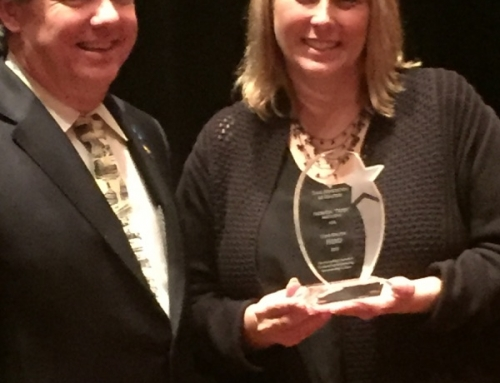 Trish Matthews wins the 2015 Texas Realtor Hero Award